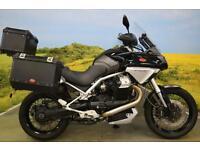 Moto Guzzi Stelvio 2008 ** SERVICE HISTORY, SW MOTEC PANNIERS, SHAFT DRIVE **