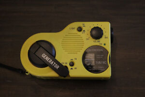 Generator Radio for Camping