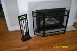 fireplace screen accessories grate chimney cover