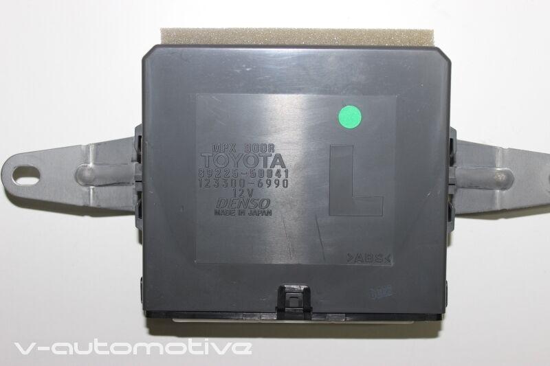 2007 LEXUS LS 460 600H / COMPUTER NETWORK DOOR CONTROL REAR LH 89225-50041