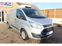 2014 FORD TRANSIT CUSTOM 290 TDCI 100 L2 H1 TREND LWB LOW ROOF FRIDGE WITH OVERN