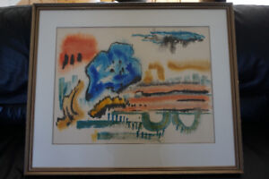 Edith Smith watercolor signed art work