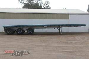 SN#170522 - 1984 Custom 40FT Flat Top Semi Trailer Bendigo Bendigo City Preview