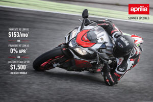 APD Motorsports your Aprilia dealer for the Maritimes.