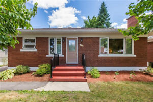 Upgraded and well maintained all brick bungalow