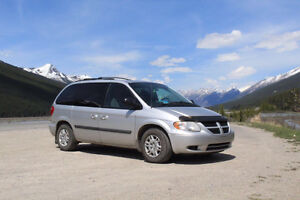 Converted 2007 Dodge Caravan Camper including equipment
