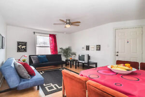 ***Beautiful well located fully furnished 4 1/2 for Jan-April***