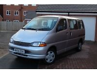 2005 Toyota Hiace 9 Seater Van D4D, Low Miles, Disable Wheel Chair, Full History, MOT 11 Month, CD
