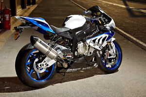 BMW HP4 Competition, NEW, never plated + many extras