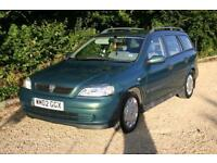 AUTOMATIC ESTATE VAUXHALL ASTRA 1.6 Club with NEW MOT and SERVICE HISTORY