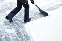 need a sidewalk or residence cleared today?