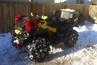 2014 Can-Am XMR 1000 with Accessories