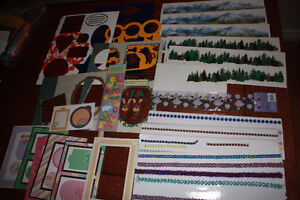 Scrapbooking Stickers and other materials