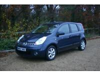 One Owner DIESEL NISSAN NOTE ACENTA with GOOD SERVICE HISTORY done 121449 Miles