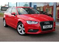 2014 AUDI A3 2.0 TDI 184 Sport GBP20 TAX, B TOOTH, 17andquot; ALLOYS and DAB