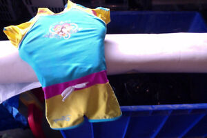 disney princess bathing suit with floatation built in