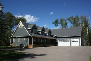 Executive Home for rent on 4 Acres minutes to Cold Lake