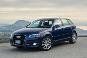 Rare Low Km 2011 Audi A3 Premium 6Speed Manual Dealer Maintained