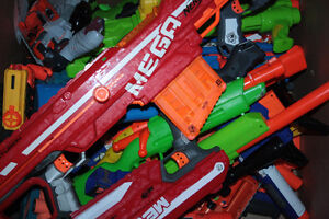 Assorted Nerf/Buzzbee/Boomco guns