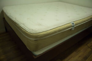 QUEEN SIZED BED AVAILABLE ALONG WITH DESK AND CHAIR