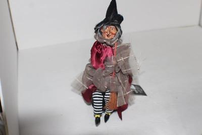 NEW GANZ Halloween Animated Laughing Witch Eyes Light Up Red and Kicks Loud](Halloween Witch Laughing)