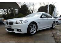 2014 BMW 5 SERIES 2014 535D M SPORT AUTO 40K MILES SALOON DIESEL