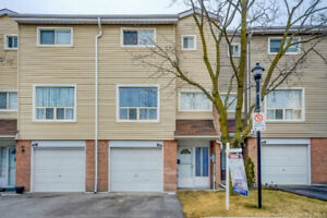 COMPLETELY RENOVATED 3 STOREY CONDO TOWNHOUSE 3+1 BR IN BRAMPTON