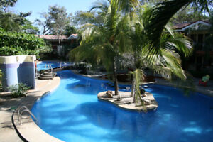 Lush Garden Condo For Rent in Costa Rica Long Term or Short Term