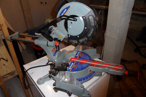 "10"" Compound Sliding Mitre Saw with Laser"