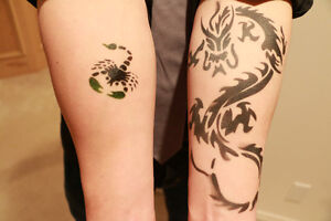 Airbrush Tattoo Service For Your Event!