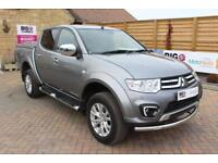 2015 MITSUBISHI L200 DI-D 4X4 LWB BARBARIAN LB 175 BHP DOUBLE CAB WITH MOUNTAIN