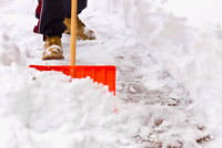 Snow Shoveling Today!
