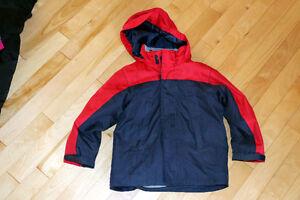 Manteau d'automne pour garçon 3 dans 1 gr:5