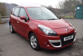 Renault Scenic DYNAMIQUE 1.5 DCI 106 ** 6 MONTH WARRANTY ** (red) 2010