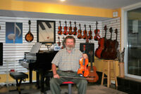 Violin, viola, cello, piano, theory lessons in Kanata