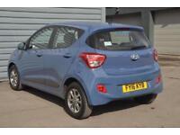 2016 Hyundai i10 1.0 Premium Petrol blue Manual