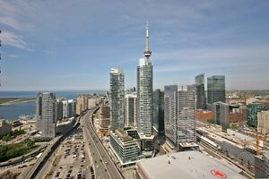 2 bed 1 bath condo with parking Downtown Harbourfront Toronto