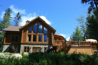 Cottage rental for 10 persons at Fiddler Lake Resort