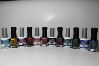 Lechat Perfect Match Metallux Collection Chrome GEL + LAC SET OF 6pcs for sale  Shipping to India