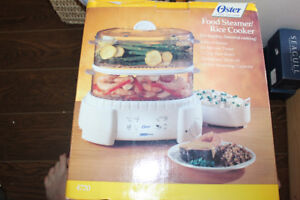 Oster food steamer/rice cooker