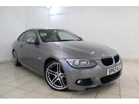 2013 63 BMW 3 SERIES 2.0 320D M SPORT 2DR 181 BHP DIESEL