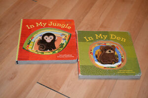 "Books for Kids: ""In my Jungle"" and ""In my Barn"""
