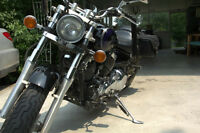 Yamaha Vstar, 2002, Vance and Hines pipes