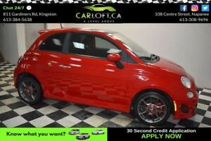 2013 Fiat 500 X ABARTH MANUAL - LOW KMS**SUNROOF**BLUETOOTH