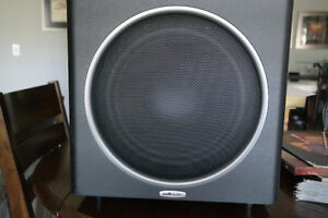 Polkaudio 5 speakers sound surround and sub woofer