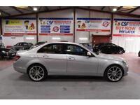 2007 57 MERCEDES-BENZ C CLASS 2.1 C220 CDI ELEGANCE 4D AUTO 168 BHP DIESEL