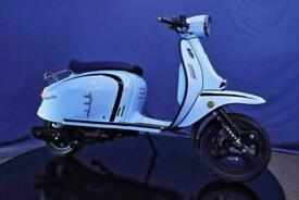 Royal Alloy GT 50cc Modern Classic Retro Automatic Moped Scooter Learner Lega...