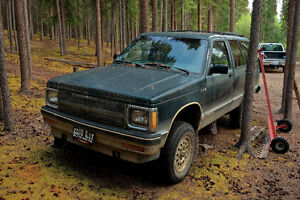 1992 Chevrolet Blazer SUV, Crossover