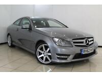 2012 62 MERCEDES-BENZ C CLASS 2.1 C250 CDI BLUEEFFICIENCY AMG SPORT 2DR AUTOMATI