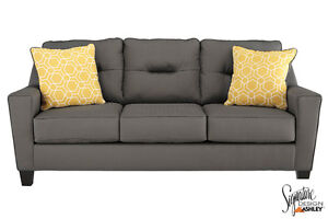 Brand NEW Forsan Grey Sofa! Call 613-389-6664!